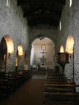 Pieve di Sant'Andrea a Cercina : Interno 1