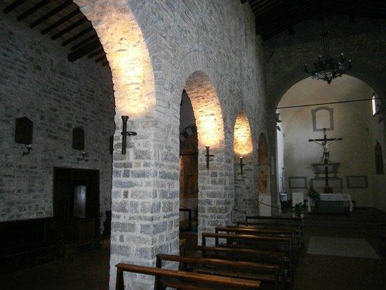 Pieve di Sant'Andrea a Cercina : Interno 2