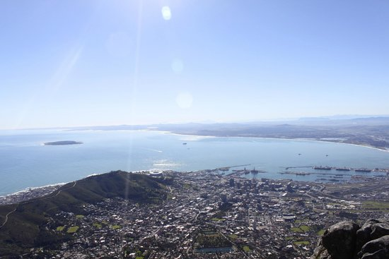 Table Mountain Aerial Cableway: Cape Town and Robben Island
