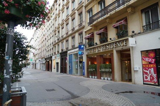 Hotel La Residence: outside
