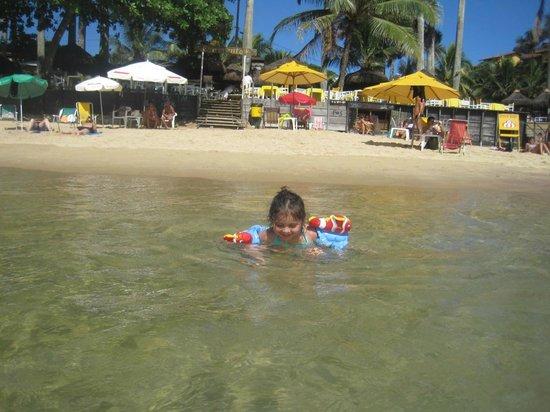 Joao Fernandes Beach: Tranquilo y especial para los niños....