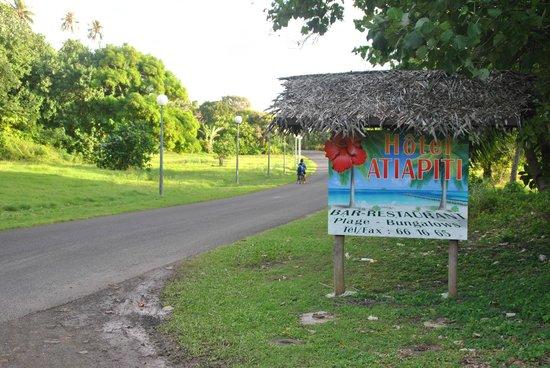Hotel Atiapiti : La entrada