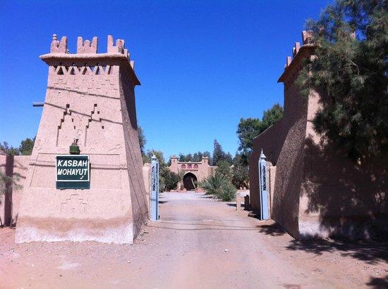 Hotel Kasbah Mohayut: Kasbah Mohayut Main Gate