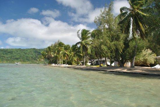 Hotel Atiapiti : El entorno...