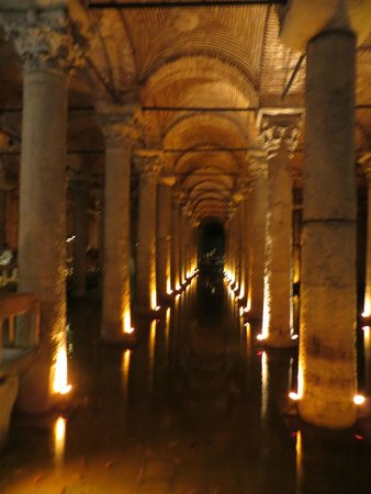 Basilica Cistern: Inside the Cistern - a must see in Istanbul!