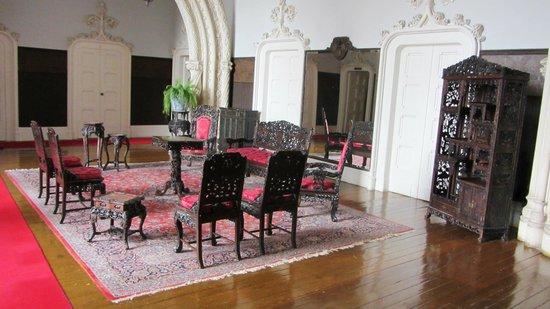 Bussaco Palace Hotel: Hall do 1º piso.