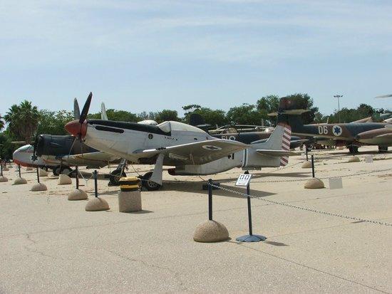 Hatzerim Israel Airforce Museum: P51