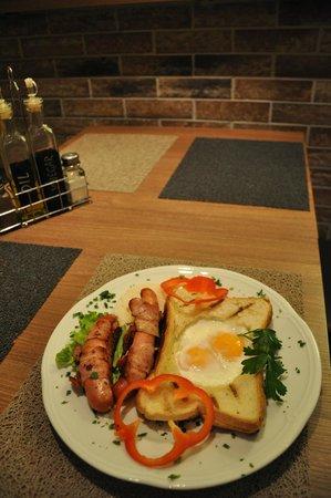 Paninoteka Restaurant: Great breakfasts every morning..