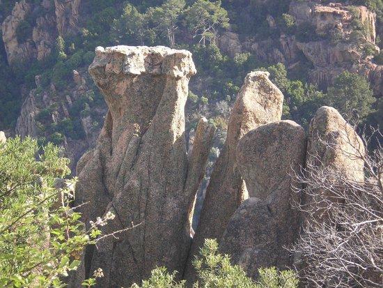 Les Calanche Cliffs : Meraviglia della natura - Le calanche