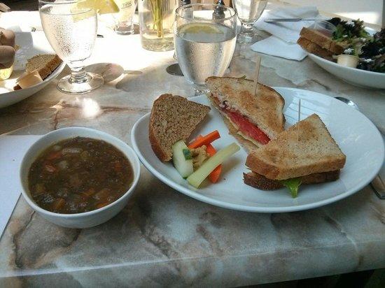 The Baker's Teahouse: BLT plus mental soup.