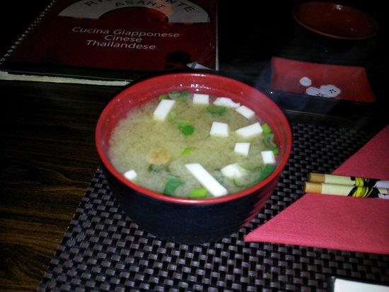 Asahi: Asahi - zuppa di miso
