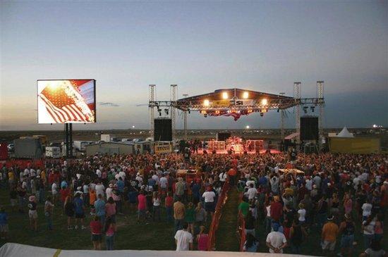Outdoor Festival, Midland, Texas