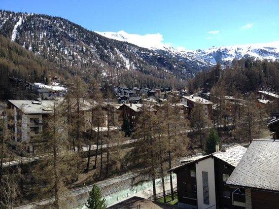 Hotel Matterhornblick : View from the room