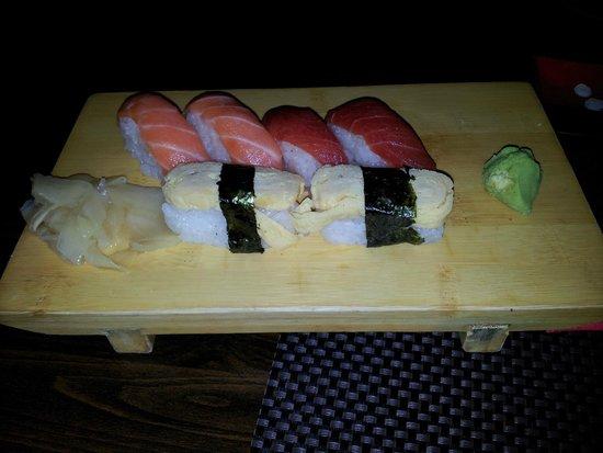 Asahi: Asahi - nigiri sushi