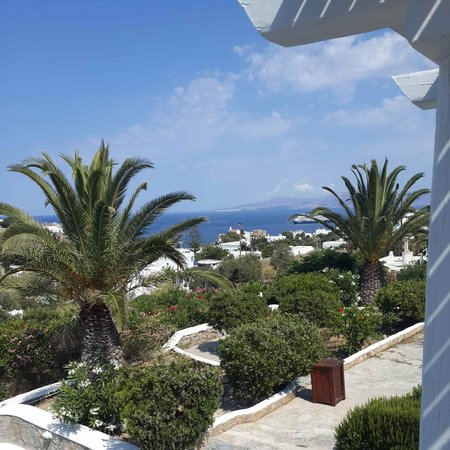 Andronikos Hotel: view from suite 202 , stunning view