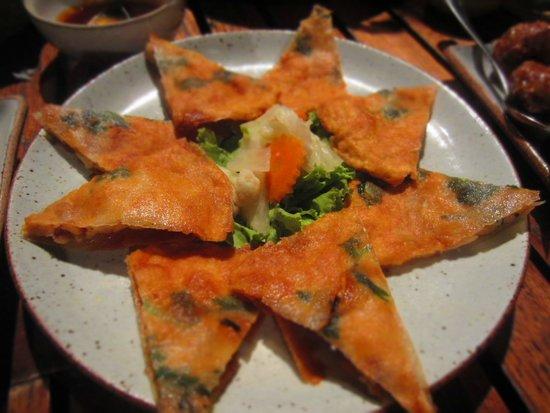 Kan Eang@Pier Restaurant : Crispy shrimp pancake