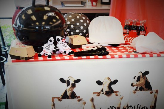 Chick-fil-A: Photo Booth for our Grilled Chicken event