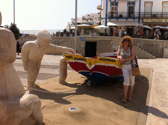 Centro Historico de Albufeira: Taken by brilliant works of art in old town