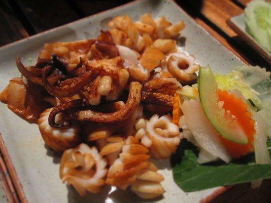 Kan Eang@Pier Restaurant : Grilled squid