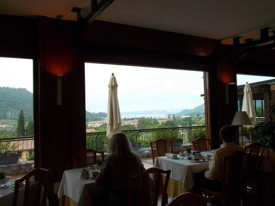 Poiano Resort Hotel: veduta panoramica da sala colazione/cena