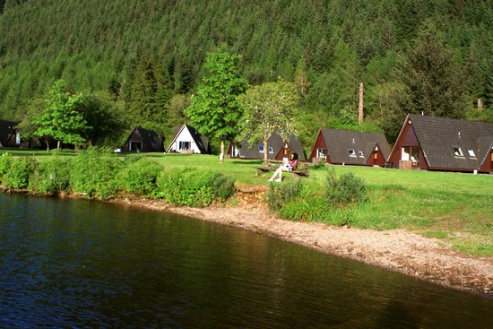 Great Glen Water Park: Lodges