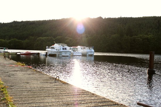 Great Glen Water Park: Sunset on Loch Oich