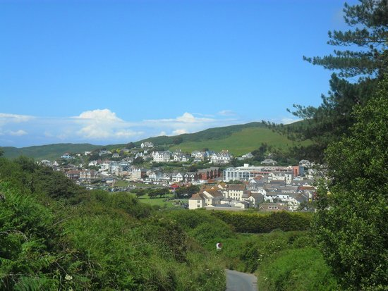 Twitchen House Holiday Village : Nearby village of Woolacombe
