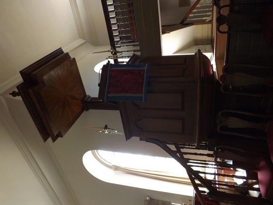 Bruton Parish Episcopal Church: Pulpit