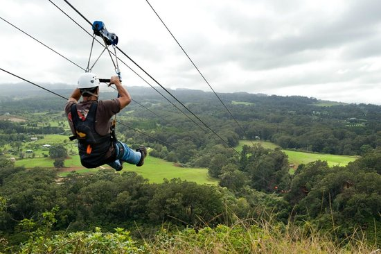 Parsippany, NJ: Zipline Fun!
