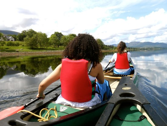 Great Glen Water Park: Canoe Hire, Loch Eil