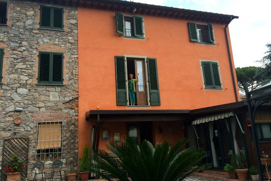 B&B Le Giare : View of the rooms from the courtyard