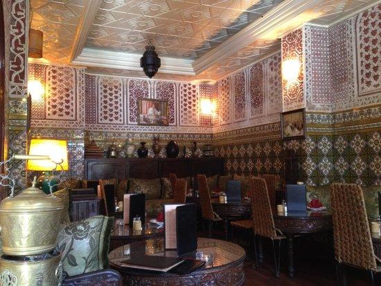 L'Etoile Centrale: La sala da pranzo