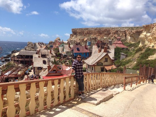 Popeye Village Malta: The view of the village