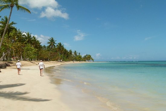 Grand Bahia Principe El Portillo: PLAYA DEL HOTEL