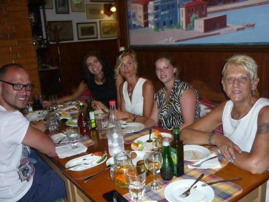 Taverna Othonas: op de sunweb  meze avond