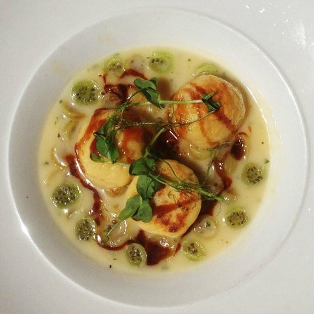 21 Hungarian Kitchen: Veal Stuffed Dumplings with Gooseberries