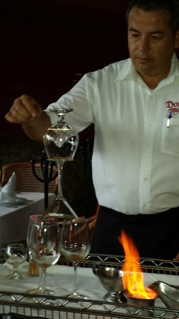Frascati: Preparation of Mexican Coffee