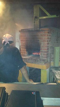 Frascati : Pizza Brick oven