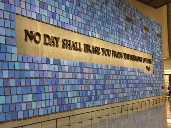 Memorial del 11S: no day shall erase you...