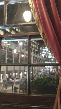The Albert : View from my table