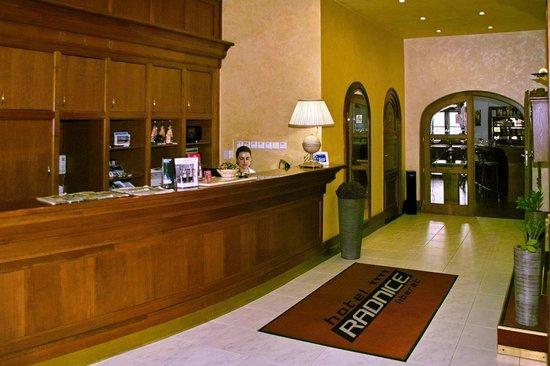 Hotel Radnice: Reception