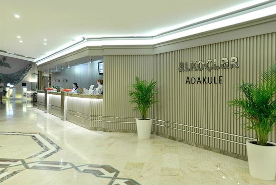 Alkoclar Adakule Hotel: respsiyon