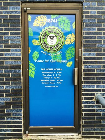 Fat Head's Brewery and Tap House: Entrance Door