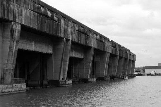 Base Sous-Marine de Bordeaux : Exterior