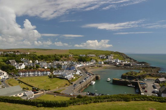 The Portpatrick Hotel: View from hotel window