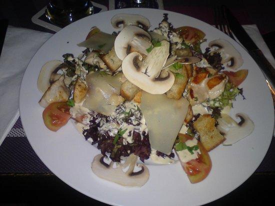 Restaurante El Hidalgo: Mein Lieblingssalat Cäsar