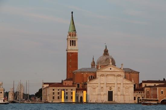 San Giorgio Maggiore: In the late afternoon sun