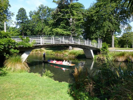 Botanischer Garten Christchurch: Botanic Gardens bridge