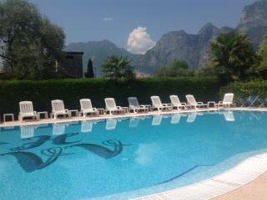 Hotel Villa Verde: the pool