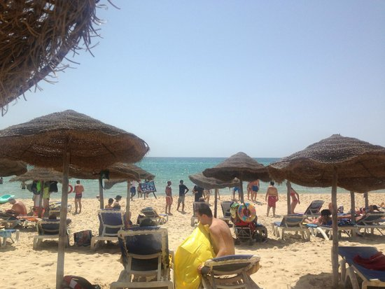 Medina Belisaire & Thalasso: beach